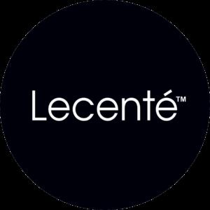 Lecente Glitter Logo
