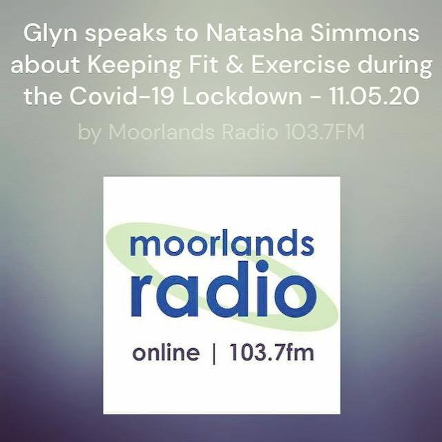 Natasha on the Radio PIlates During Lockdown